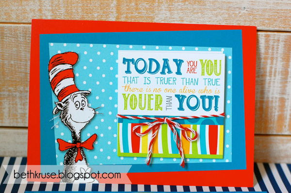 i loved all the bright dr. seuss colors!