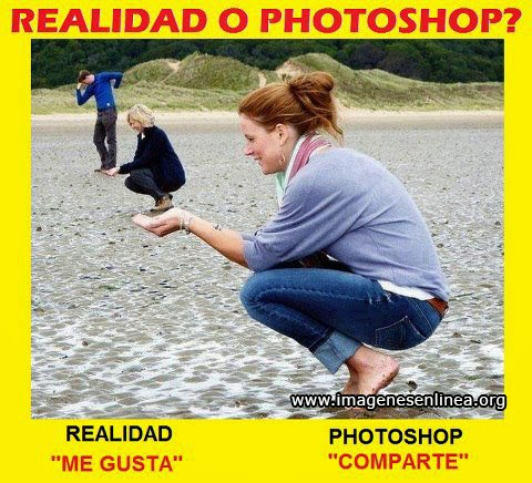 Realidad o photoshop?, Imagenes curiosas para compartir en facebook.