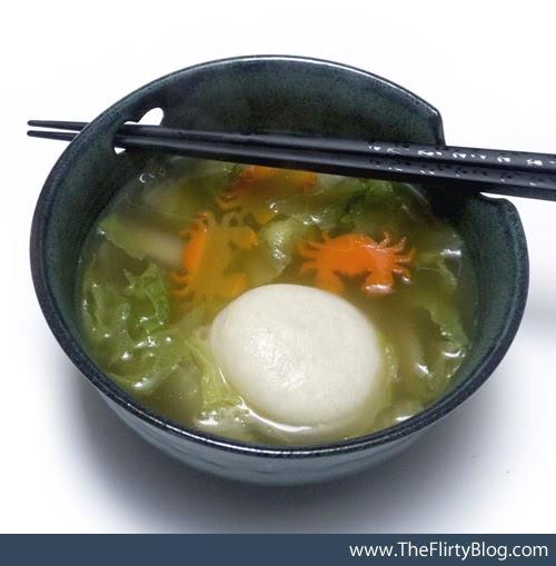 Japanese Fish Cake Miso Soup