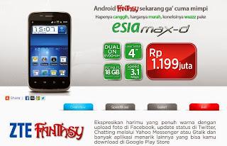 ZTE Fantasy (N855D)