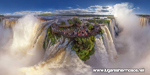 Cataratas del Iguasu (Iguasu Falls), Argentina y Brasil