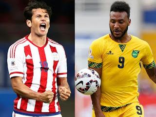 Paraguay enfrenta a Jamaica, Copa América 2015