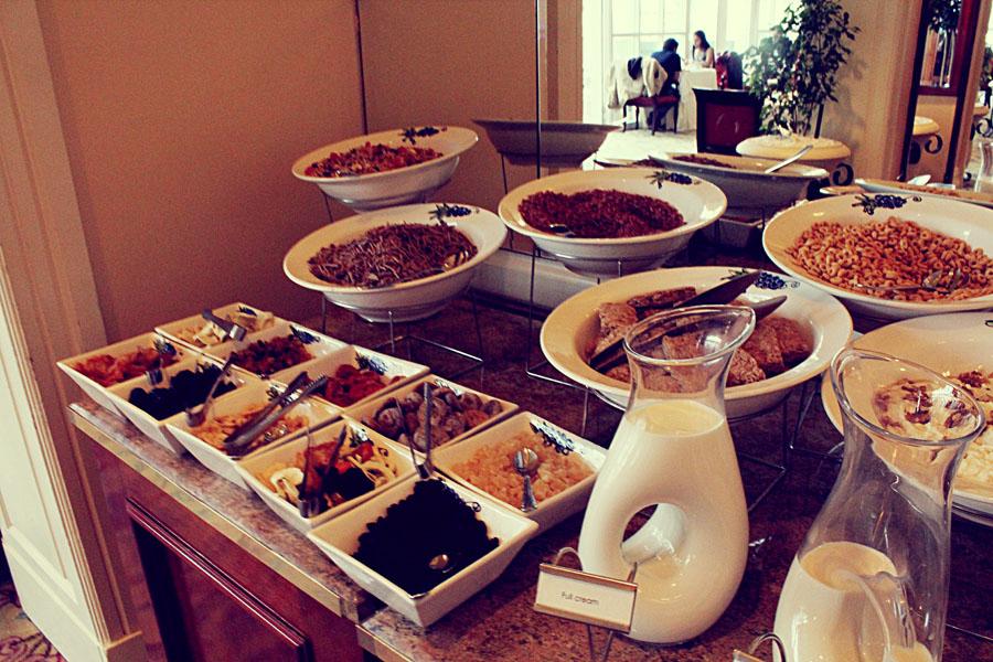 Cape Town Taste Buds Buffet Breakfast Table Bay Hotel