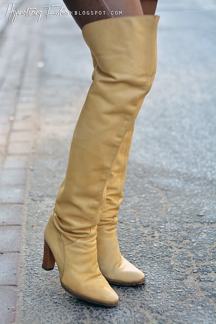 nude boots over knee