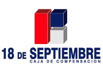 18 septiembre caja compensacion: