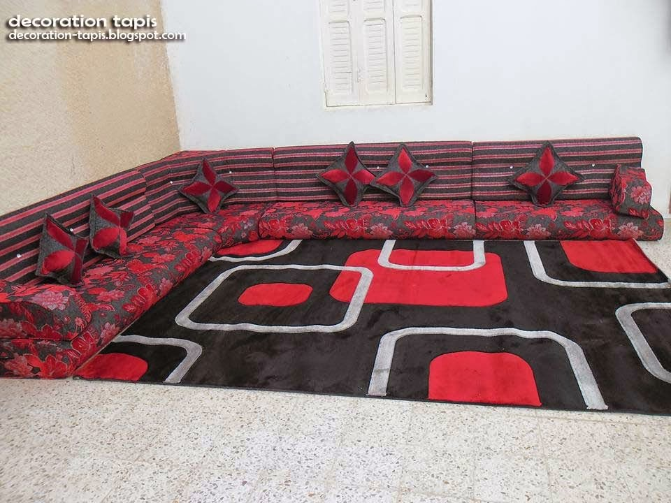 salon marocain matelas au sol noel 2017. Black Bedroom Furniture Sets. Home Design Ideas