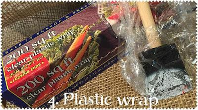 4. Plastic wrap