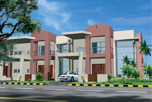 Front Elevation Bahria Town : D front elevation safri villas bahria homes