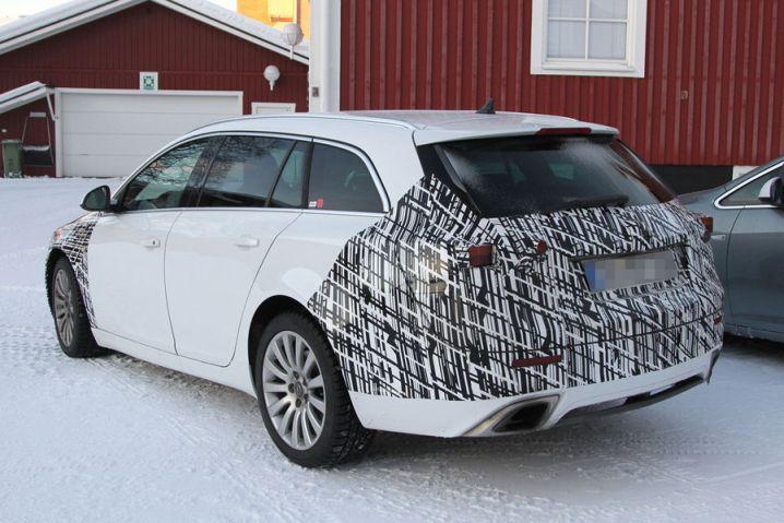 2014 Future Opel Insignia Facelift Spyshots
