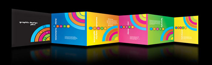 Sparkly grit brochure design research for Graphic design brochure