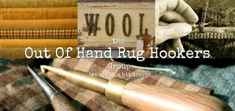 the 'Out of Hand' Rug Hookers Group