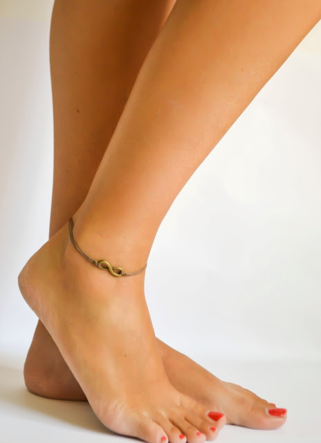 silver anklet, shani and adi jewelry