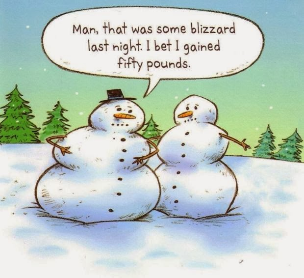 snowman comic, snow funny, blizzard funny, blizzard comic, snowman weight gain