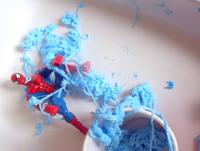 Superhero Messy Play for Preschoolers