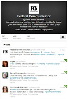 Federal Communicators Network Twitter feed