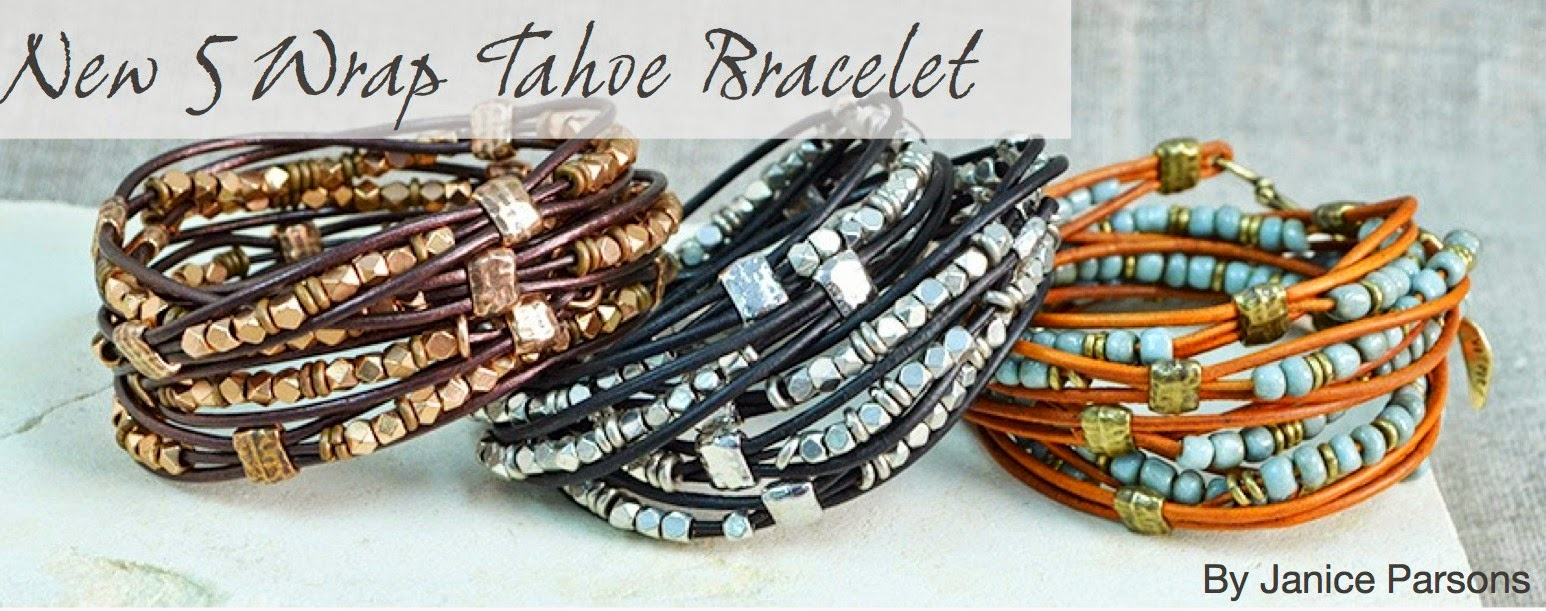 5 Wrap Tahoe Bracelet in 3 Color Palettes