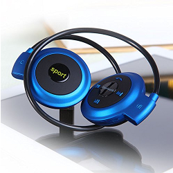 PULSE! Mini Portable Wireless Bluetooth Headset With Mic - Cordless Sports headphones