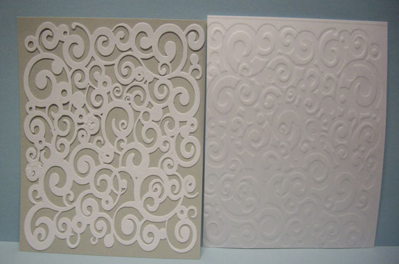 Silhouette Made Embossing Folders & Paper Pulse Blog Spot: Silhouette Made Embossing Folders