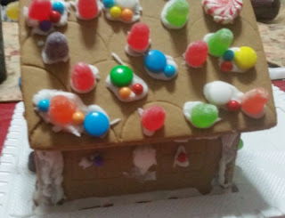 gingerbread house stage 2