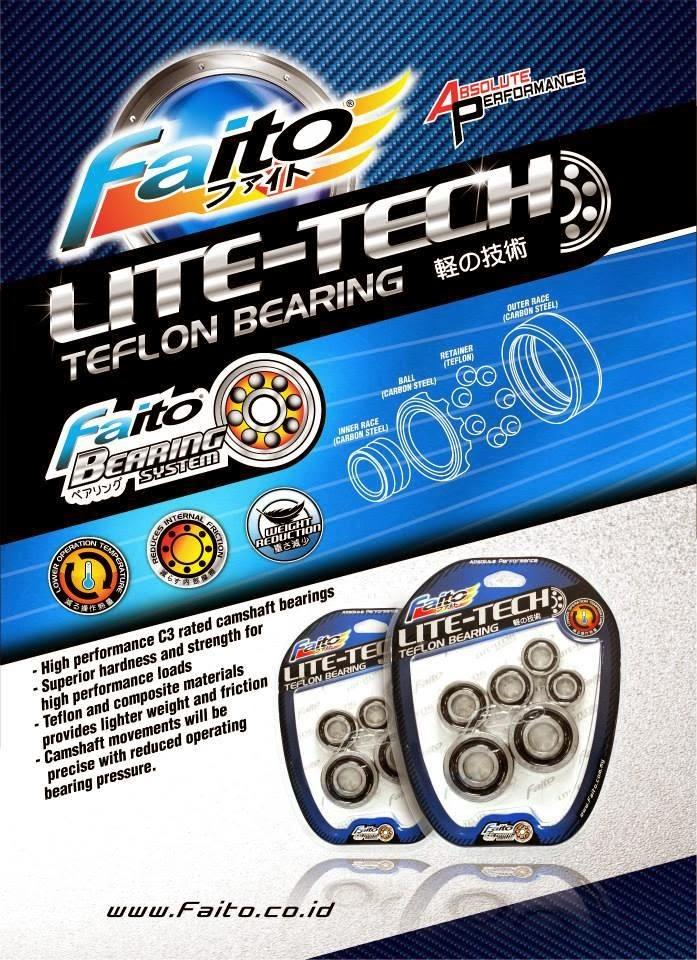 faito bearing. bering lite tech faito obat kenceng alternatif bearing