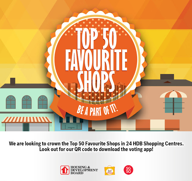 Top 50 shops in HDB Shopping Centres