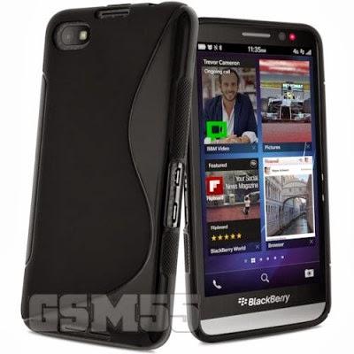 Protection éfficace avec coque S-Line pour BlackBerry Z30