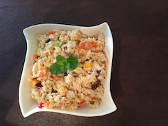Mandarin Brown Rice Chicken Salad