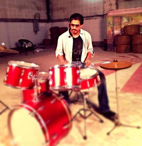 Making of Shah Rukh Khan's latest photo shoot