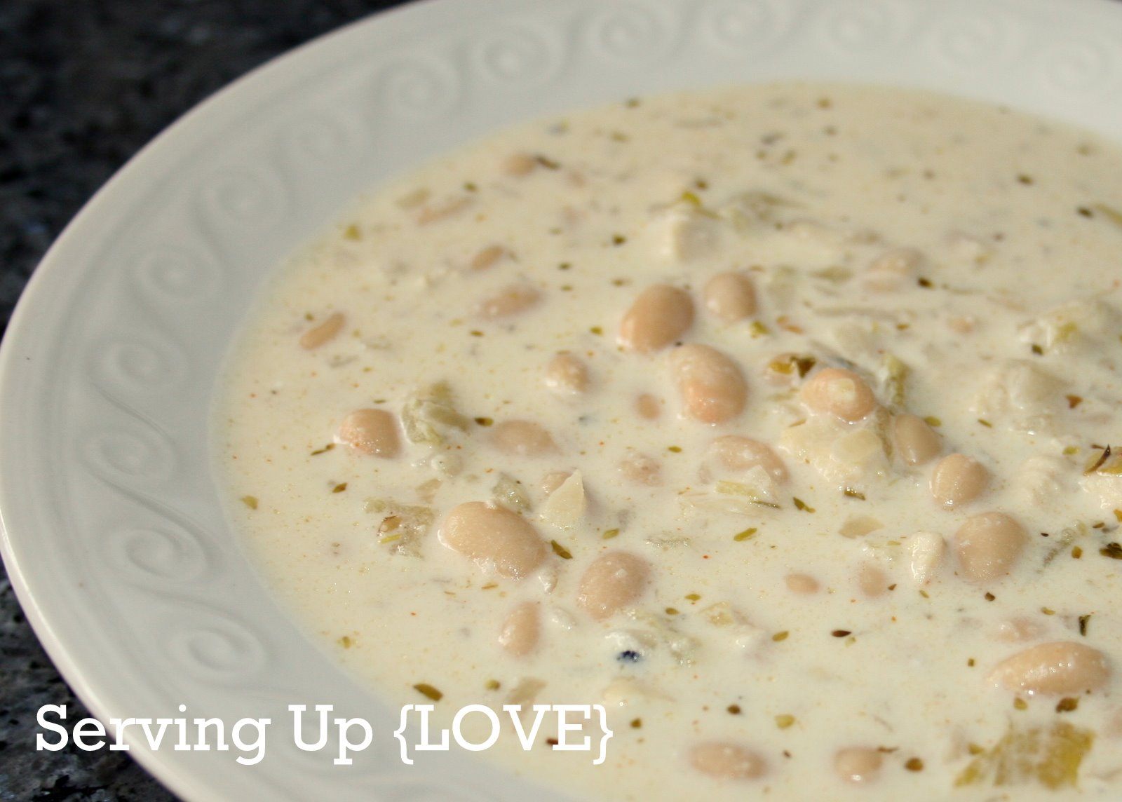 Katherine's Kitchen: Serving Up {Soup}: Creamy White Chili
