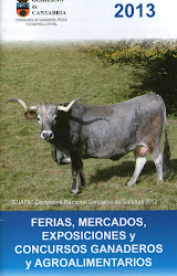 CALENDARIO 2013 DE FERIAS DE GANADO EN CANTABRIA