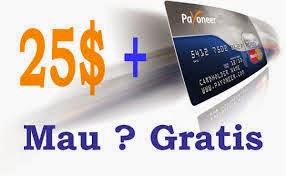 ATM Gratis+Bonus $25