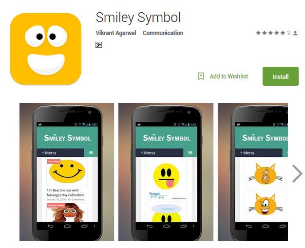 Smiley Symbol App