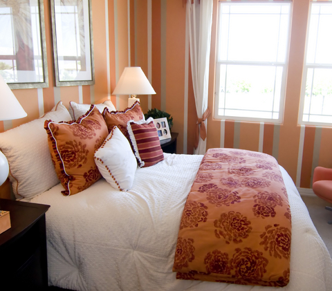 Id e d co petite chambre adulte for Agencement chambre adulte