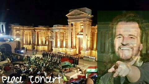 Peace Concert in Palmyra.