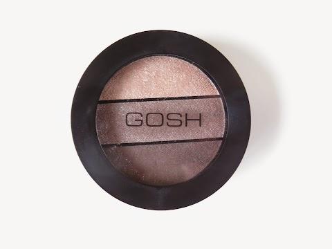 GOSH Eyelight trio 003 chunky chocolate trijų šešėlių paletė
