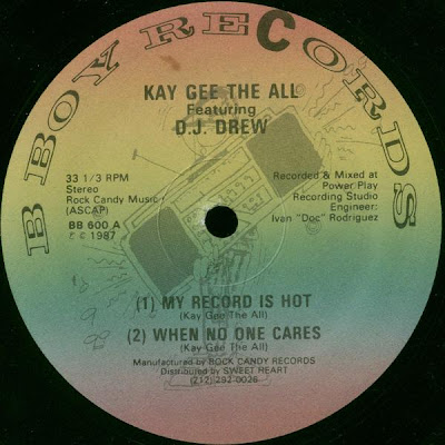Kay Gee The All Featuring DJ Drew – My Record Is Hot (VLS) (1987) (FLAC + 320 kbps)