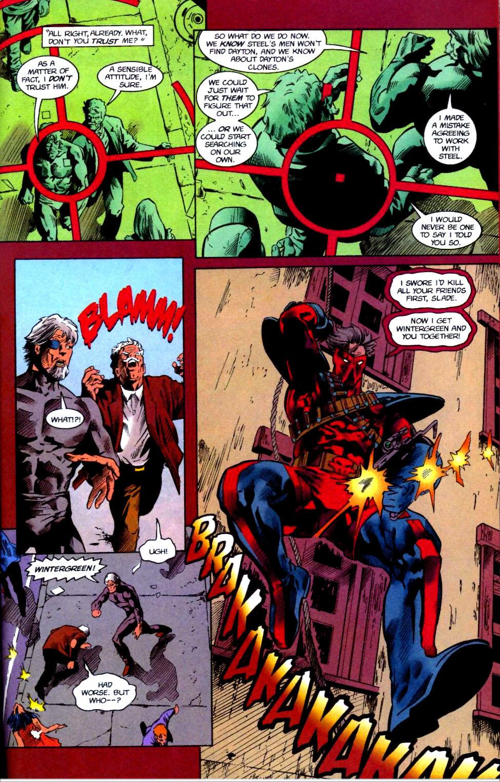 Deathstroke (1991) Issue #50 #55 - English 34