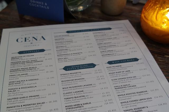 Cena Yarm Restaurant Review
