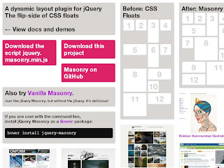 Masonry - dynamic grid layout plugin for jQuery