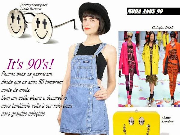 Anos 90: a moda está de volta