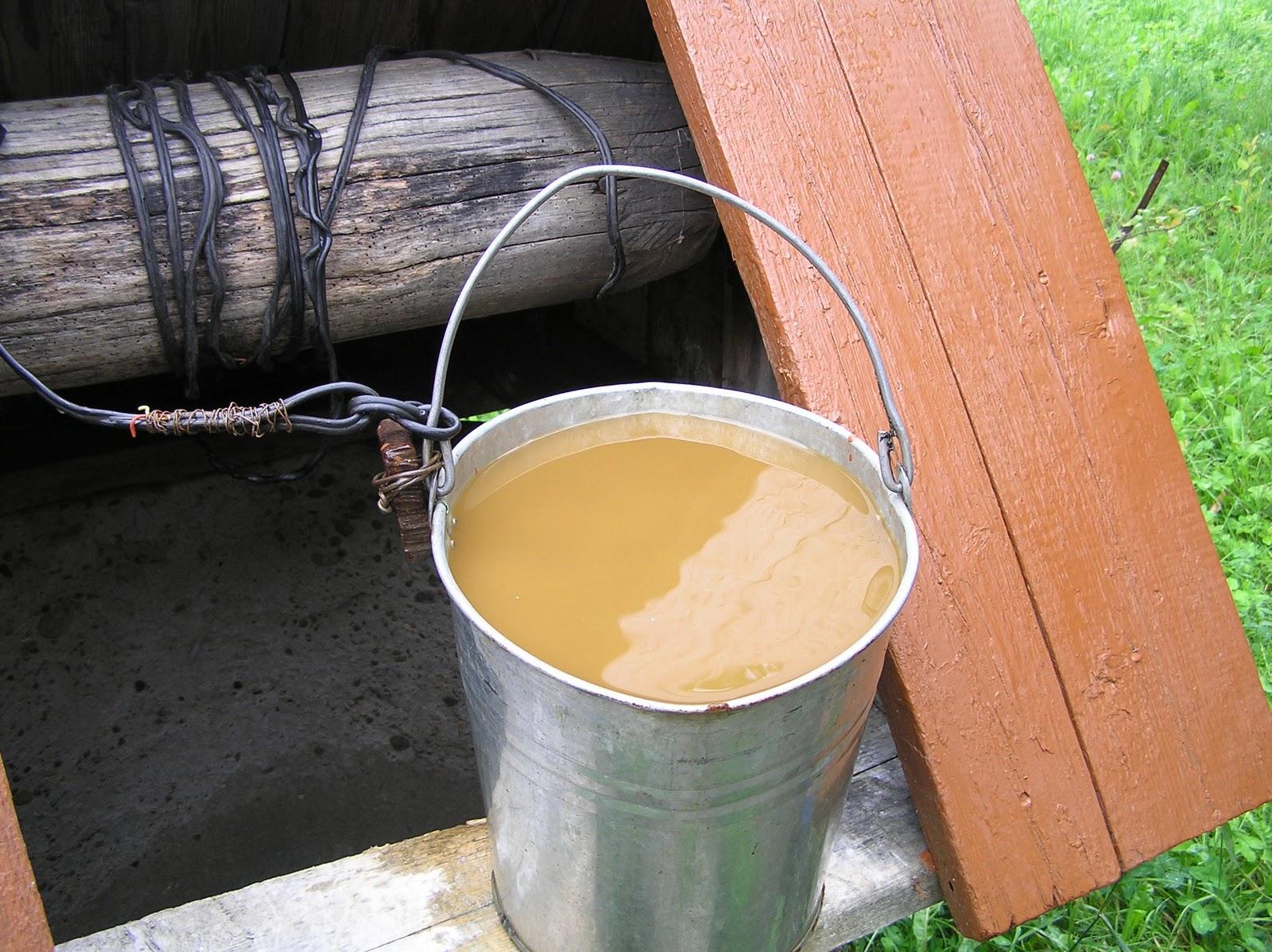 Очистка воды от глины своими руками 11