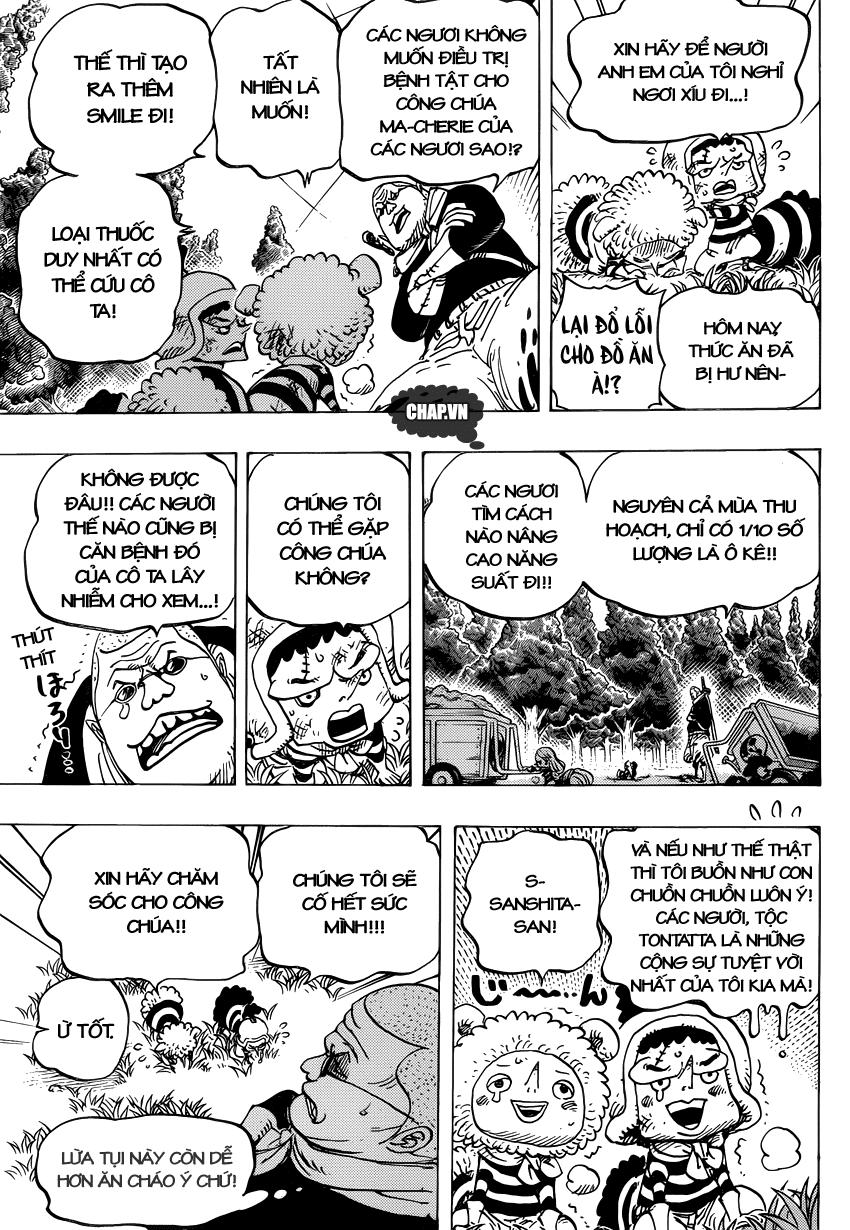 One Piece Chapter 738: Binh đoàn Trebol: Chỉ huy đặc biệt Sugar 006