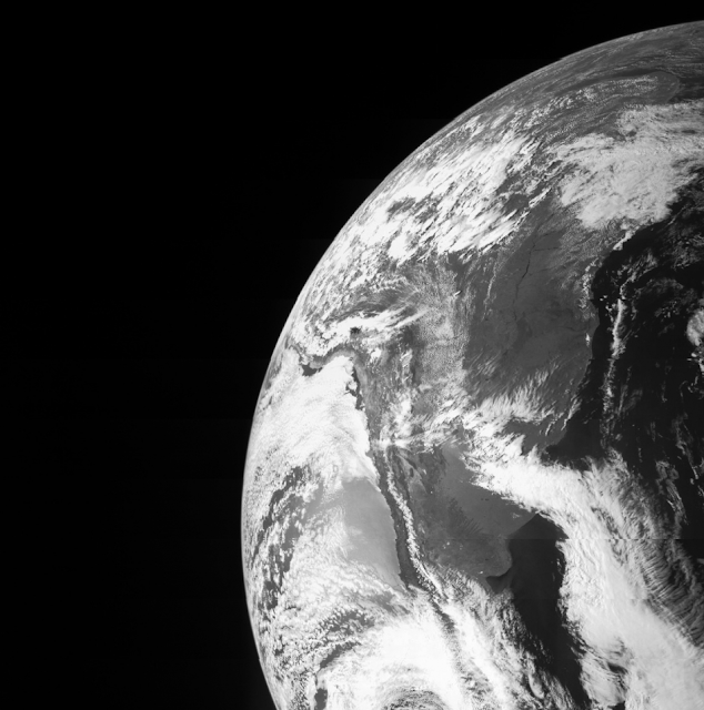 On Oct. 9, Juno flew by Earth using the home planet's gravity to get a boost needed to reach Jupiter. The JunoCam caught this image of Earth, and other instruments were tested to ensure they work as designed during a close planetary encounter. The Juno spacecraft was launched from NASA's Kennedy Space Center in Florida on Aug. 5, 2011. Juno's rocket, the Atlas 551, was only capable of giving Juno enough energy or speed to reach the asteroid belt, at which point the Sun's gravity pulled Juno back toward the inner solar system. The Earth flyby gravity assist increases the spacecraft's speed to put it on course for arrival at Jupiter on July 4, 2016. Image credit: NASA/JPL-Caltech/Malin Space Science Systems