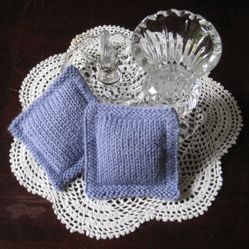 Knot Knecessarily Known Knitting: Double Knit Sachets