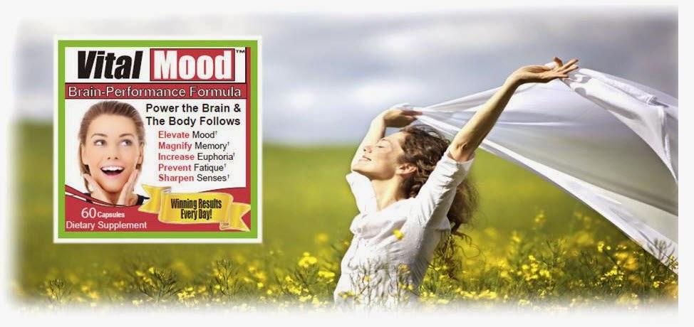 Vital Mood, a Natural Brain Boosting Supplement