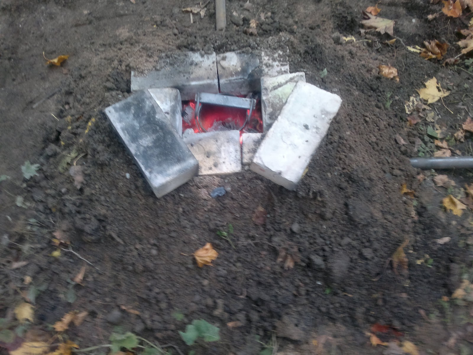 used dirt backyard aluminum casting vol 1
