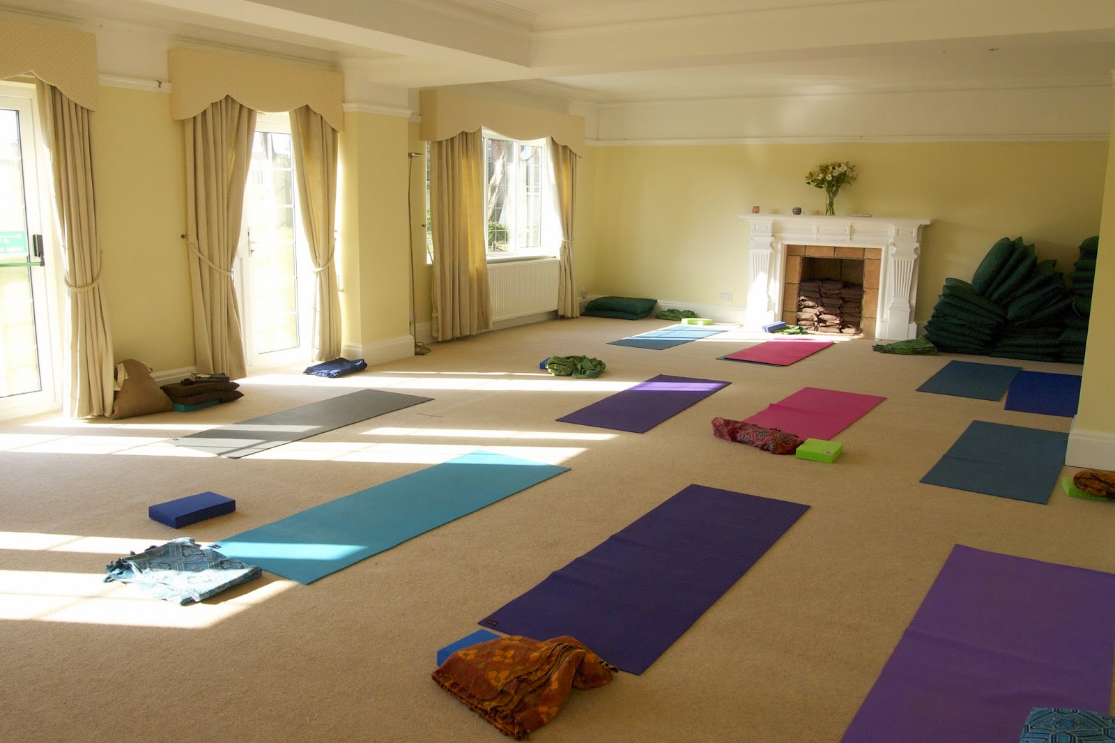 Sally Parkes Relax and Restore Yoga Retreat