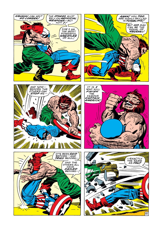 Captain America (1968) Issue #104 #18 - English 16