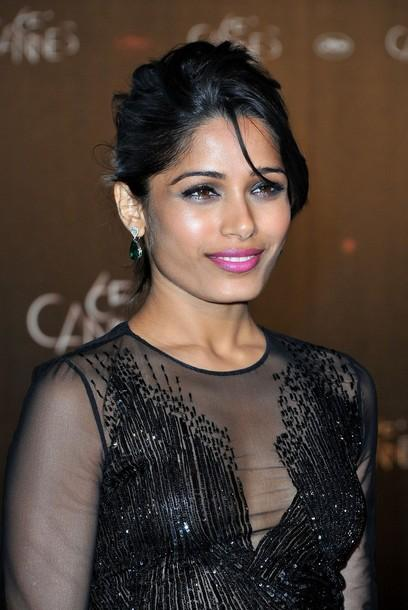 freida pinto cannes film festival hot photoshoot