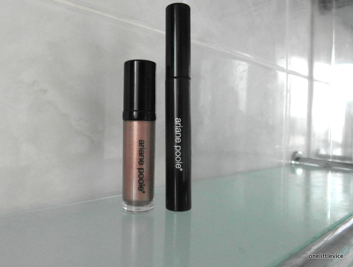 One Little Vice Beauty Blog: Ariane Poole Eye Shine and Luxury Mascara Review